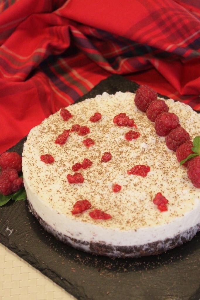 mozzarella cake variante della cheesecake