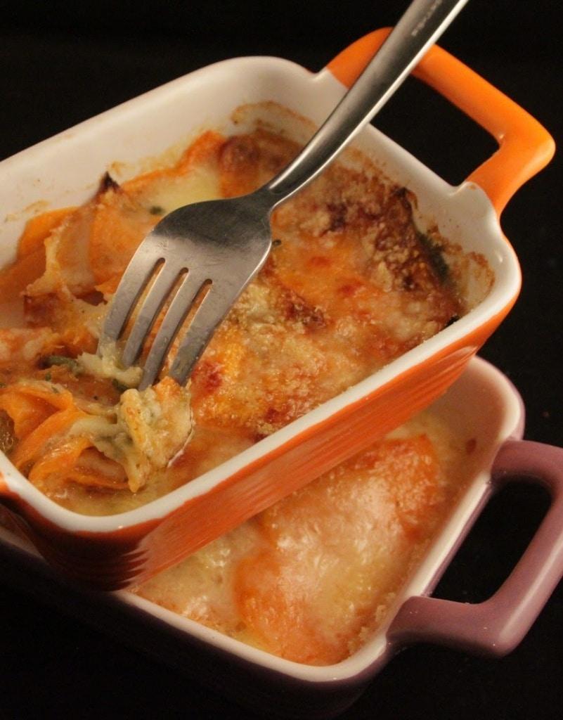 ricetta parmigiana zucca