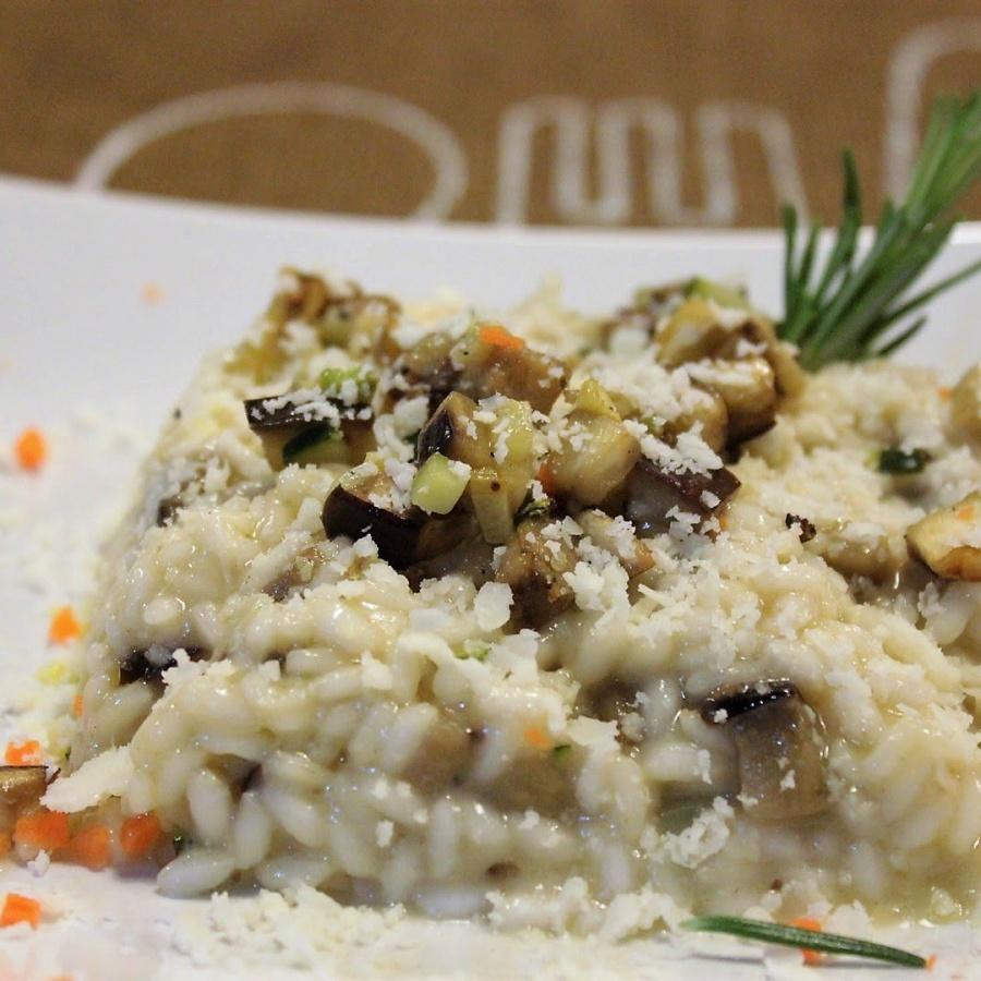 risotto con zucchine e castelmagno
