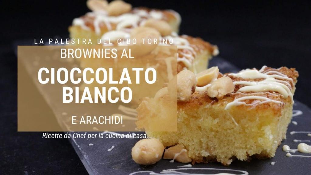 ricetta dei brownies al cioccolato bianco