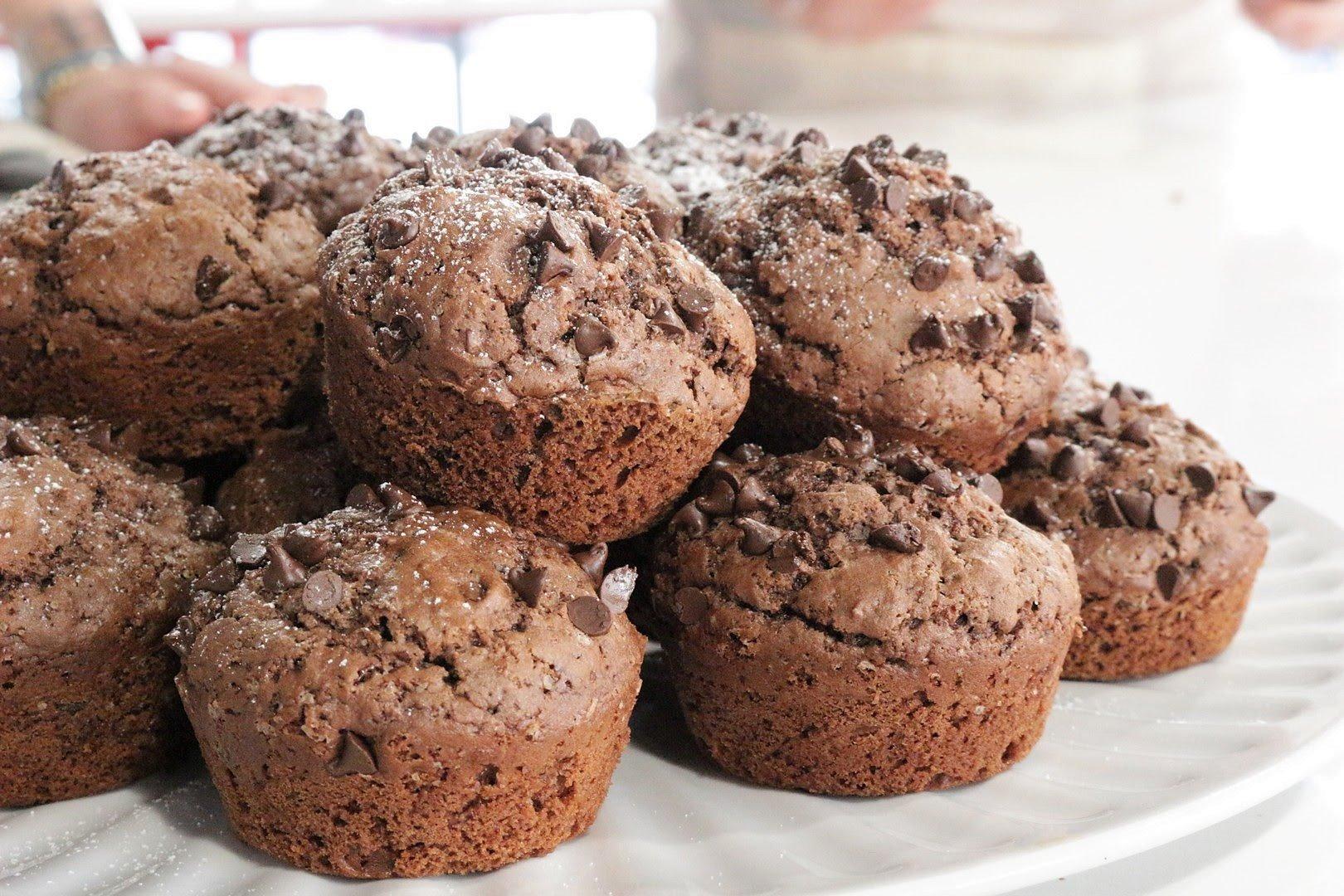 muffins doppio cioccolato e sale