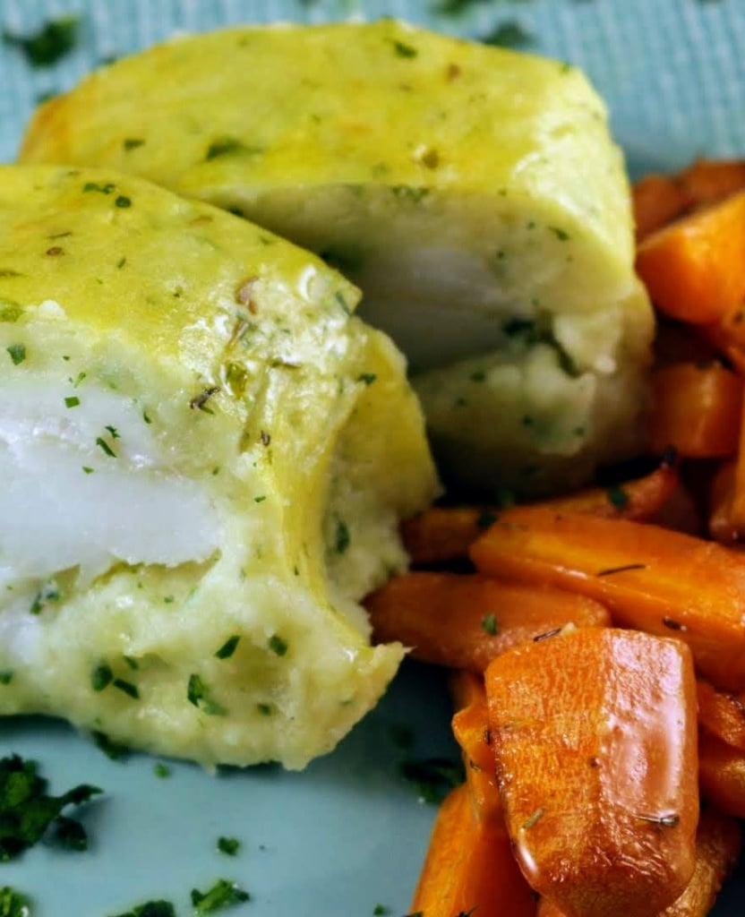 ricetta merluzzo in crosta di patate