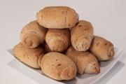 Pane integrale alle uvette e noci brasiliane