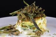 Timballino di zucchine e stracchino in pastella d'uovo