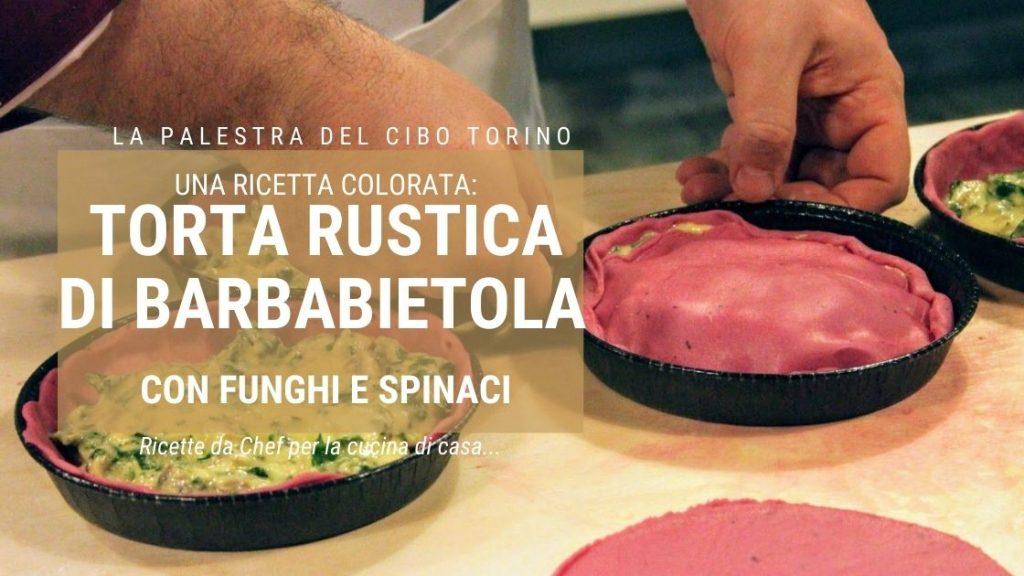 torta rustica di spinaci e funghi