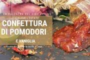 Confettura di pomodori rossi e vaniglia