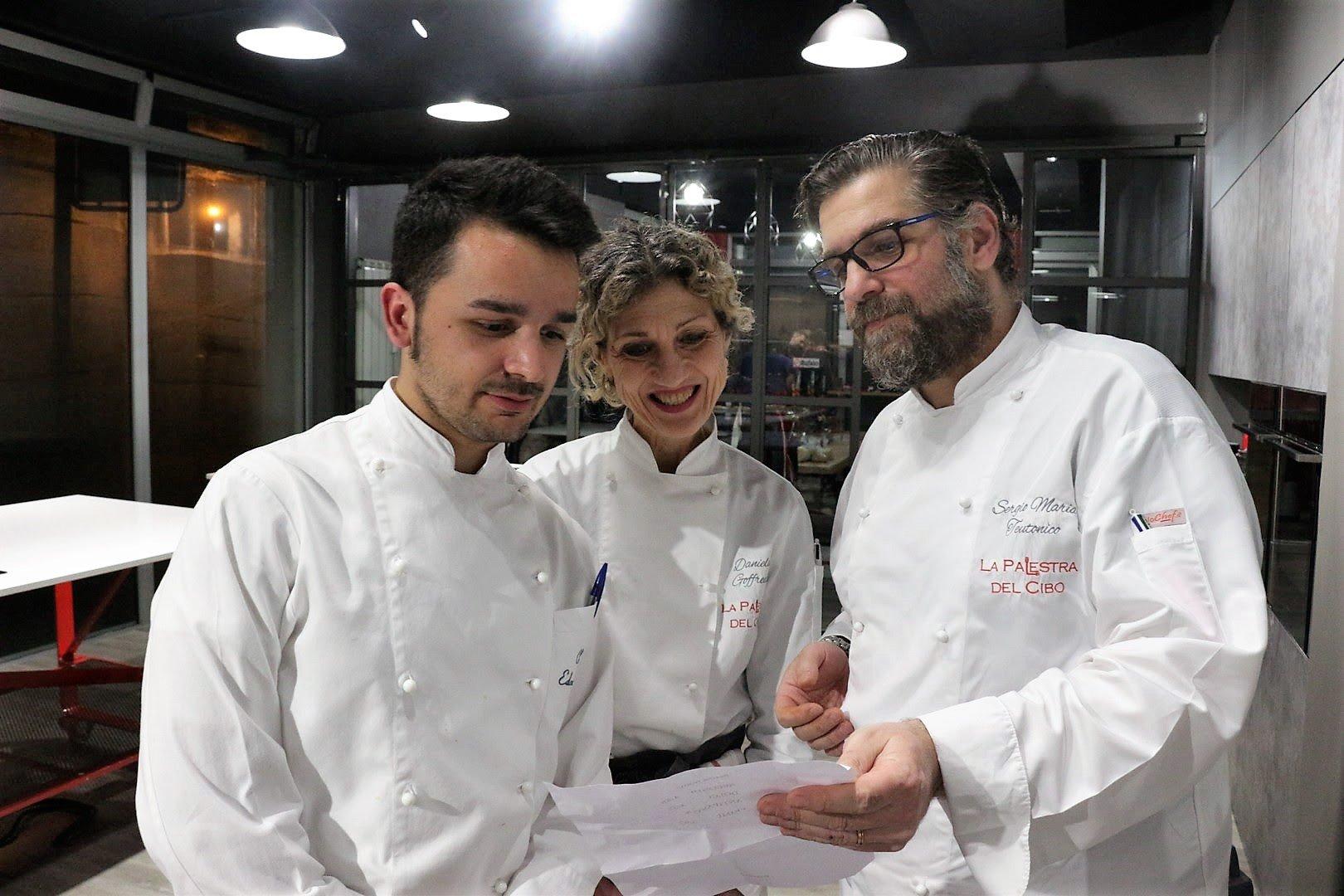 la palestra del cibo gli chef