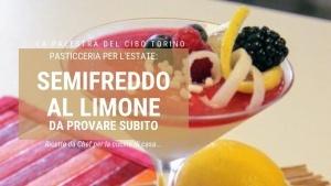 ricetta del semifreddo al limone