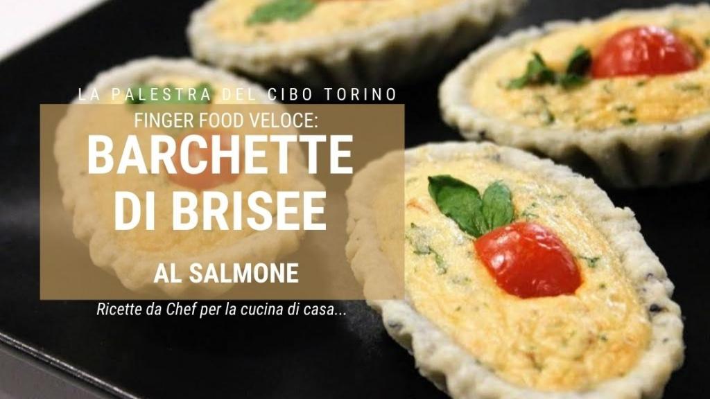 fingero food barchette al salmone