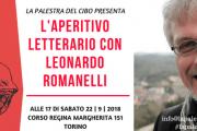 L'APERITIVO LETTERARIO CON LEONARDO ROMANELLI