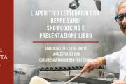L'APERITIVO LETTERARIO CON BEPPE SARDI | SHOWCOOKING