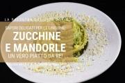 Linguine con crema di zucchine e mandorle