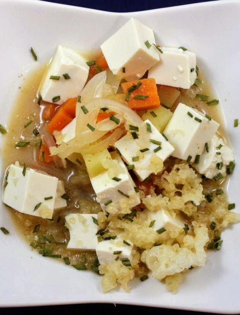Zuppa di Miso e Shichimi togarashi