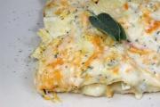 Lasagne alla zucca un primo con il pane carasau