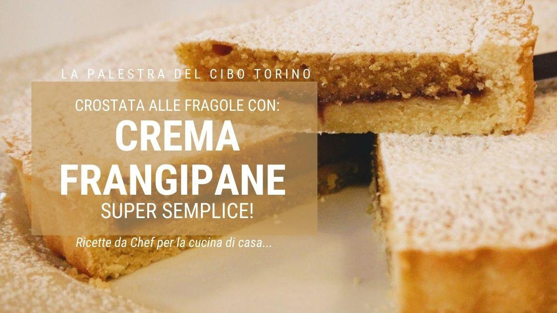 crostata crema frangipane