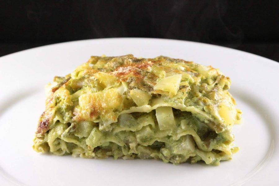 lasagne estive al pesto genovese