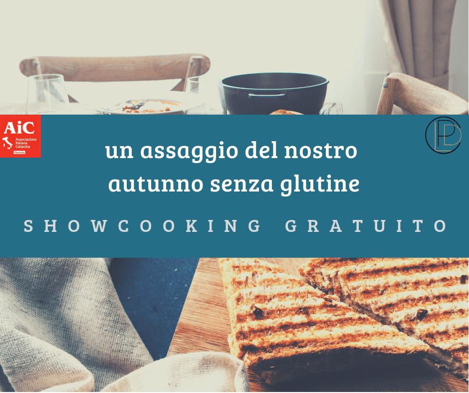 show cooking a torino evento gratuito cucina senza glutine scuola di cucina aic ricette per celiaci