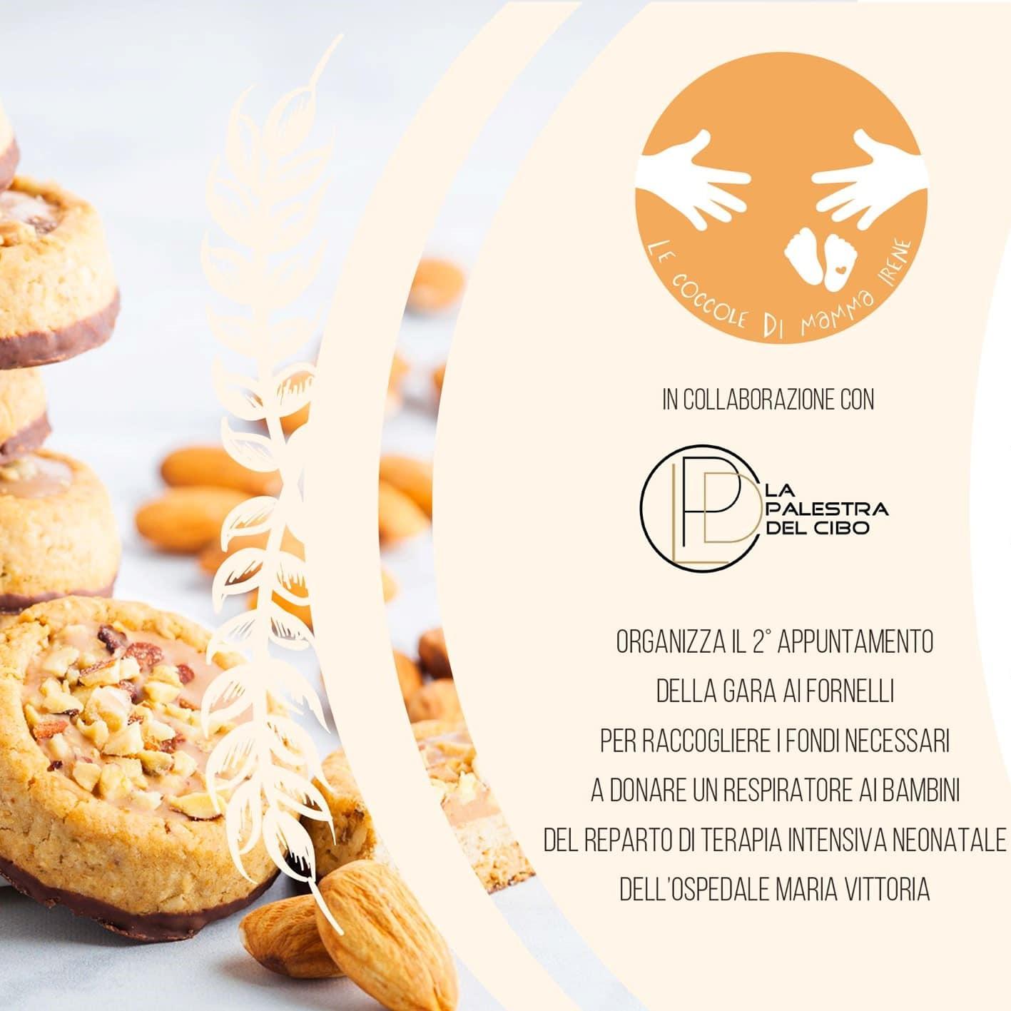 evento gratuito a torino evento solidale gara di biscotti le coccole di mamma irene scuola di cucina a torino