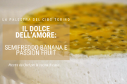 semifreddo alla banana e passion fruit