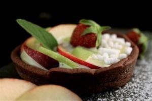 crostatine alla frutta con crema pasticcera