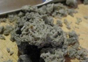 ricetta del carbone dolce della befana