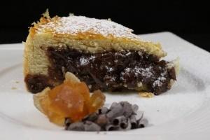 Torta pere candite e cioccolato