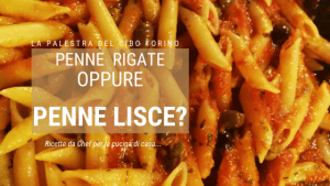 differenza tra penne lisce e penne rigate