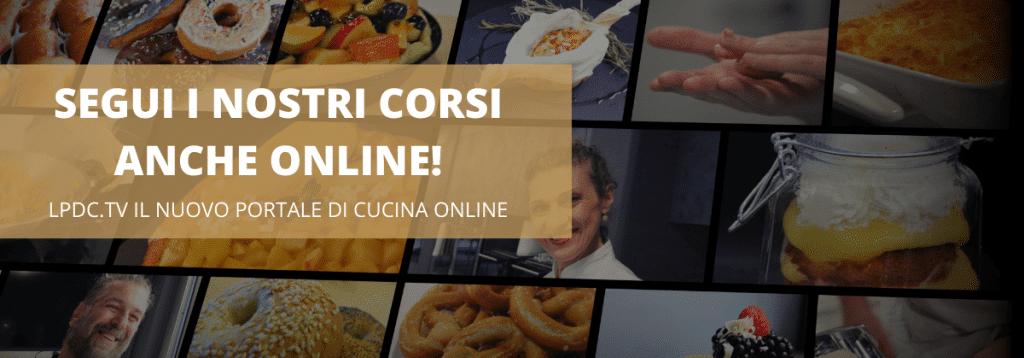 lezione di cucina online