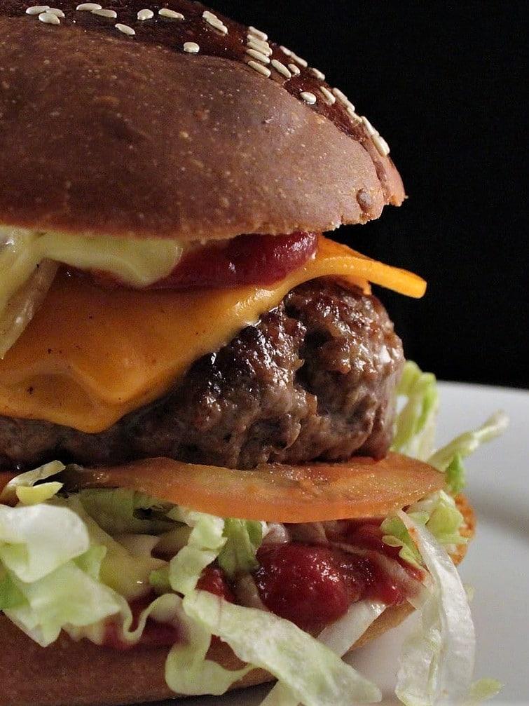 ricetta del pane degli hamburger