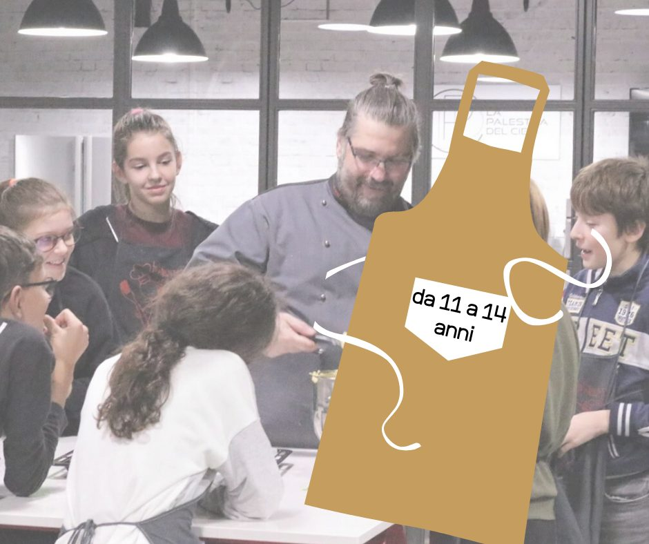 LABORATORIO BAMBINI 11-14 ANNI LA RED VELVET CAKE
