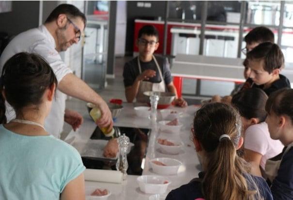 laboratorio di cucina per bambini torino