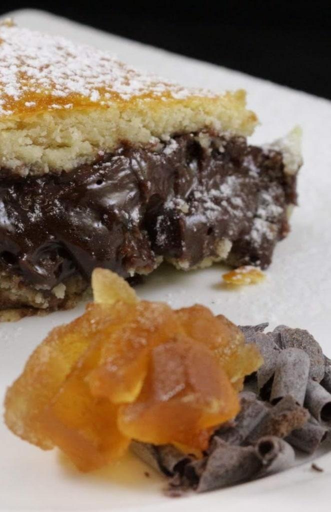 ricetta torta di pere candite al cioccolato