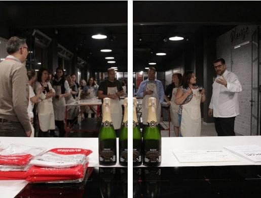 team building in cucina la palestra del cibo