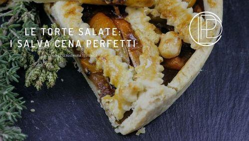 corso di cucina online le torte salate i salva cena perfertti