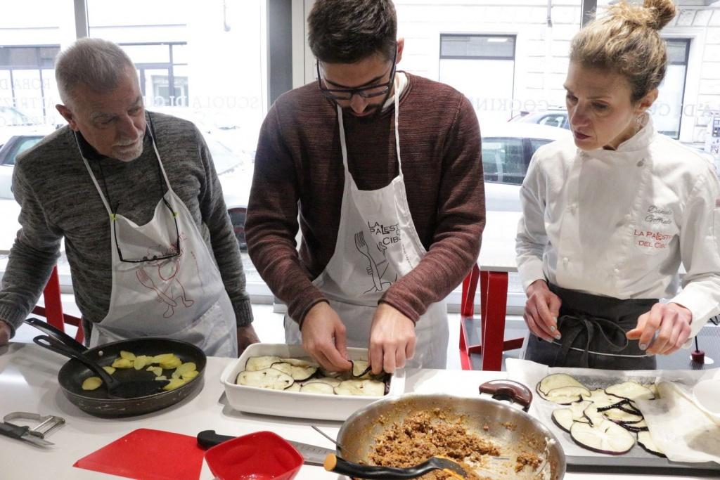 Corsi di cucina privati a torino Scuola di Cucina la Palestra del Cibo