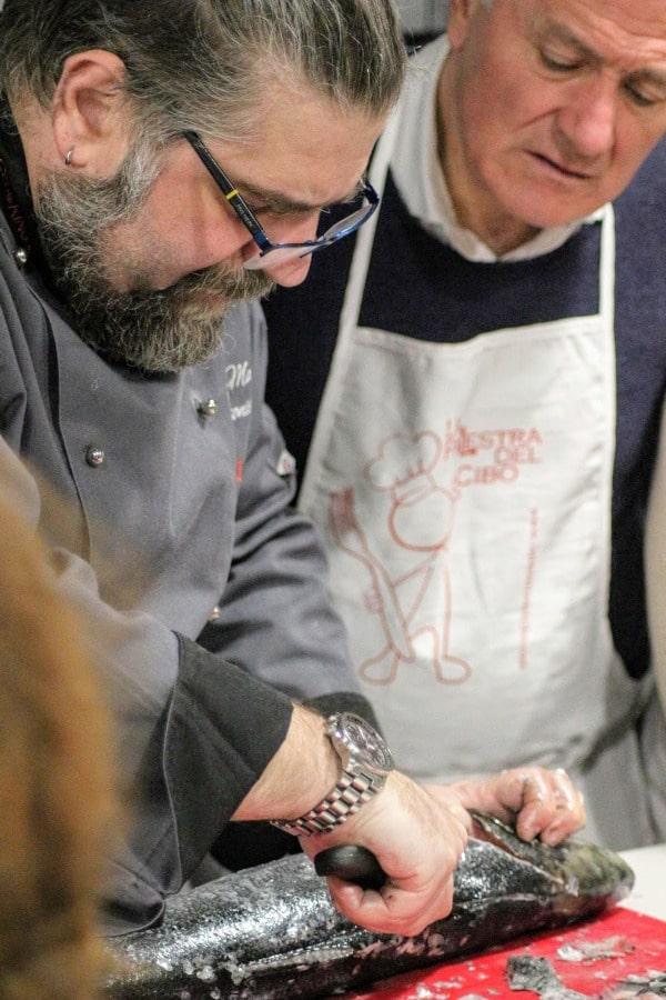 Corso cucina di pesce a torino scuola di cucina la palestra del cibo