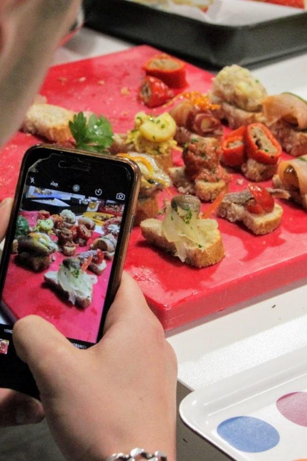 corso di cucina spagnola La Palestra del Cibo Scuola di Cucina Torino