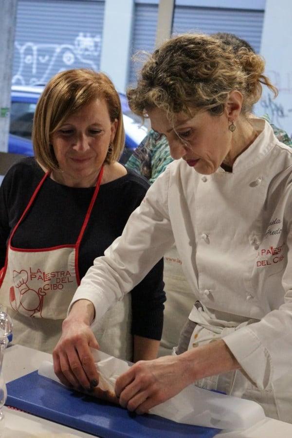corso di finger food la palestra del Cibo scuola di cucina torino