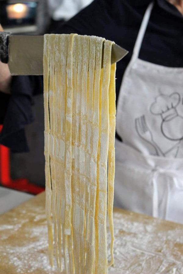 corso di pasta fresca Scuoal di cucina la palestra del cibo torino