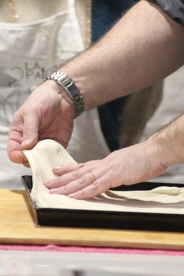 corso pizza in teglia scuola di cucina torino la palestra del cibo