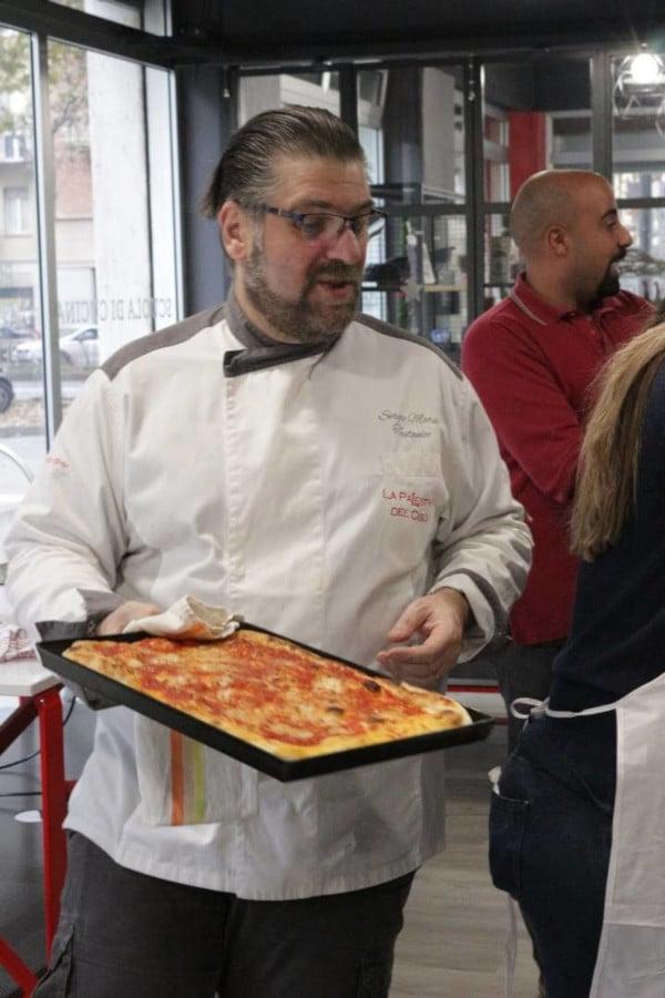 corso pizzeria scuola di cucina la palestra del cibo torino