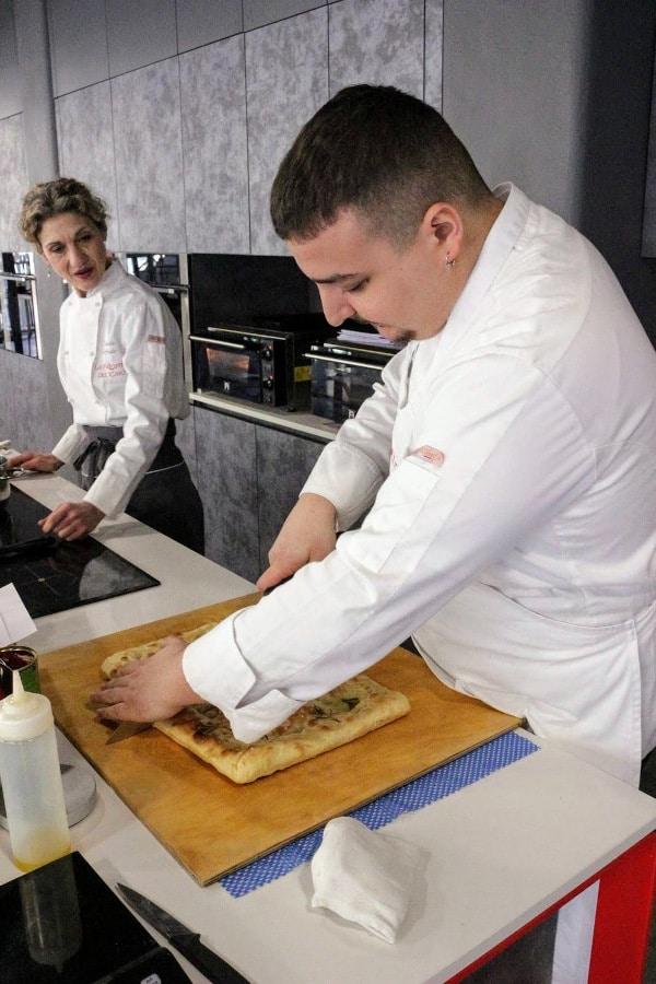 lezioni di cucina professionali la palestra del cibo torino