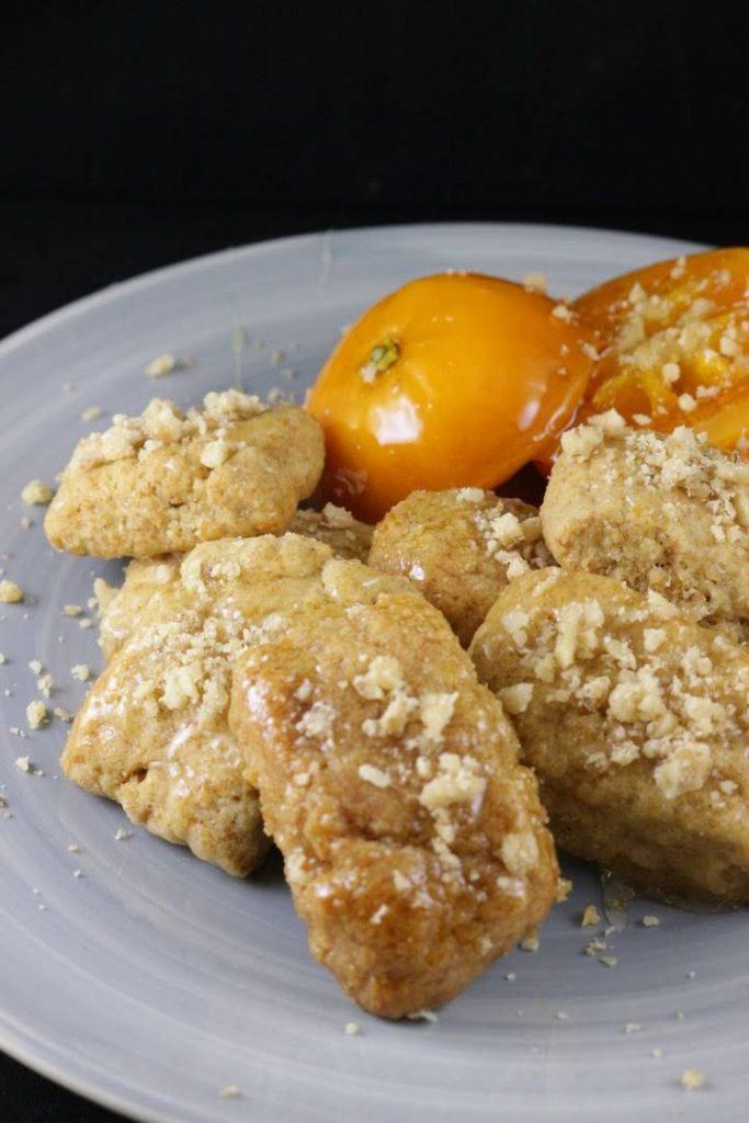 ricetta dei melomakarona biscotti greci